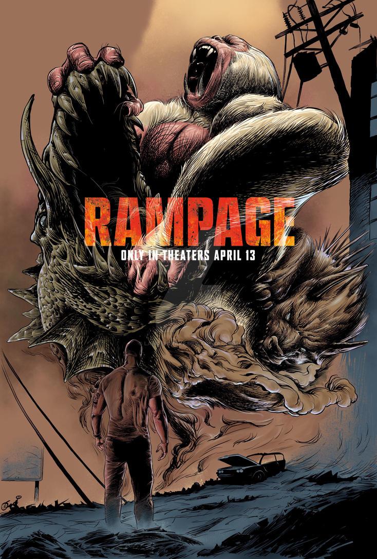 Rampage the rumble title by lancerdrake