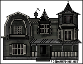 Munsters House Pixel by OckGal
