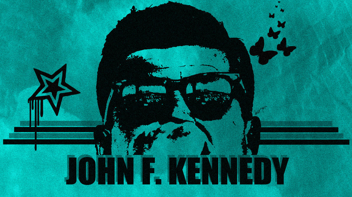 John F Kennedy Wallpaper By OckGal