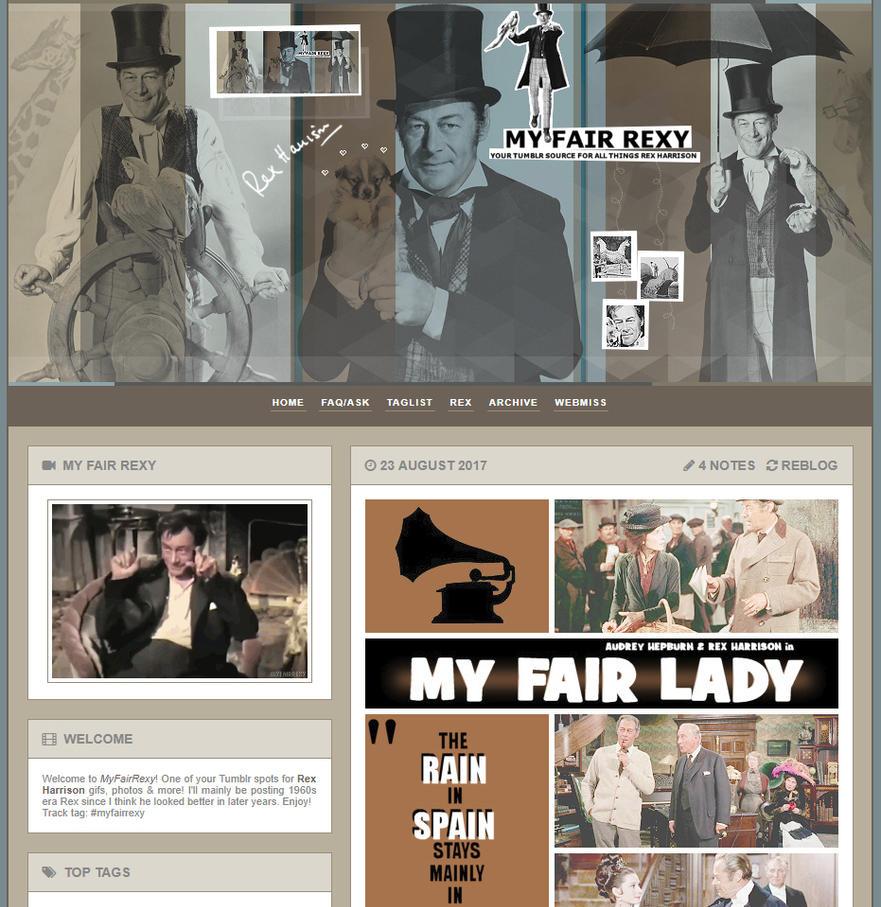 MyFairRexy Tumblr Layout 002 by OckGal