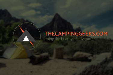 The camping geeks logo