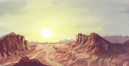 Landscape #3 - Canyon
