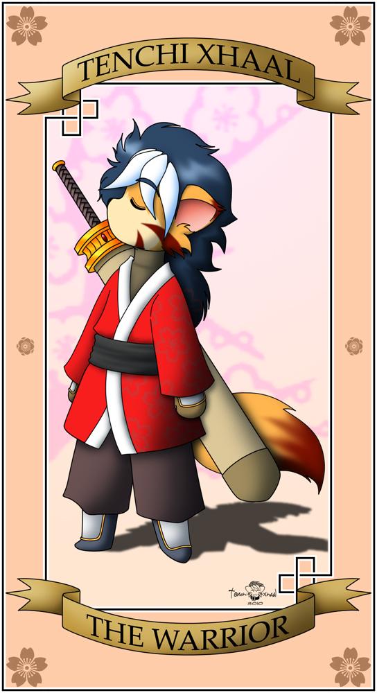 The Warrior Card by Xalmonita