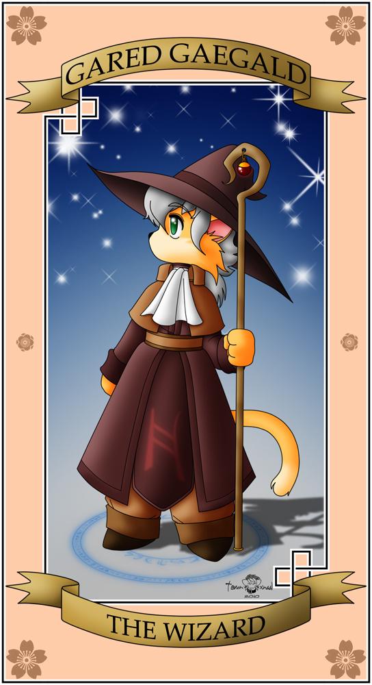 The Wizard Card by Xalmonita