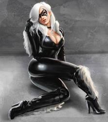Black Cat02 by phoenixnightmare