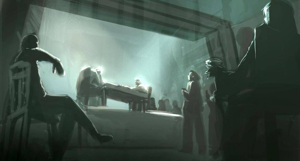 Underground Chess tournament by phoenixnightmare