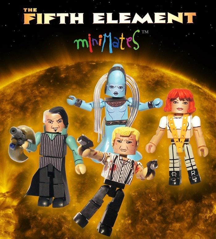 The Fifth Element Custom Minimates by luke314pi