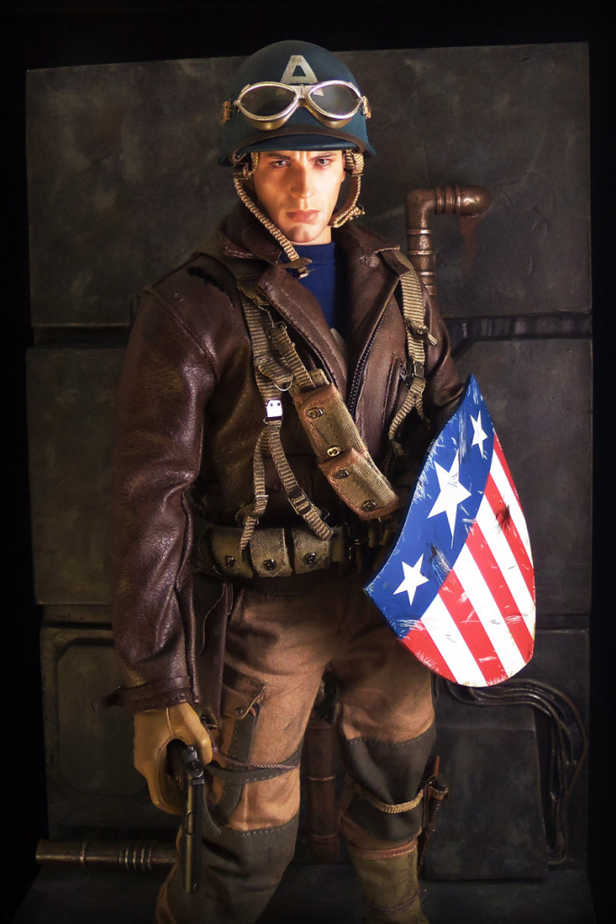 Hot Toys Rescue Captain America by luke314pi
