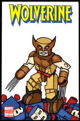 Wolverine Minimate Comic Cover