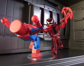 Carnage vs Spider-Man by luke314pi