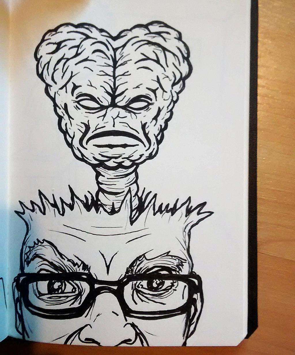 Brain Monster by luke314pi