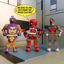 Deadpool and Friends by luke314pi