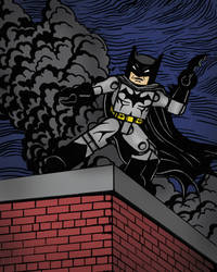 Batman Minimate by luke314pi