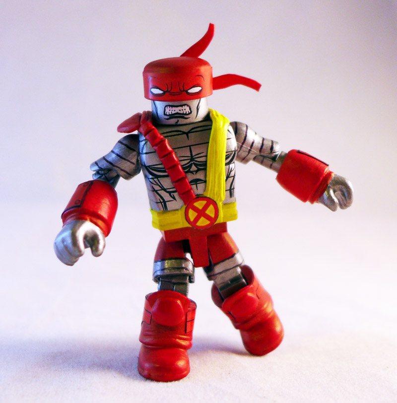 Age of Apocalypse Colossus Custom Minimate by luke314pi