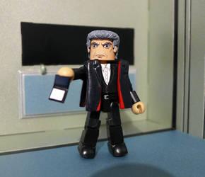 12th Doctor Peter Capaldi Custom Minimate by luke314pi