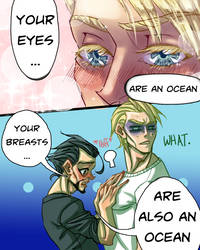YOUR EYES ARE AN OCEAN