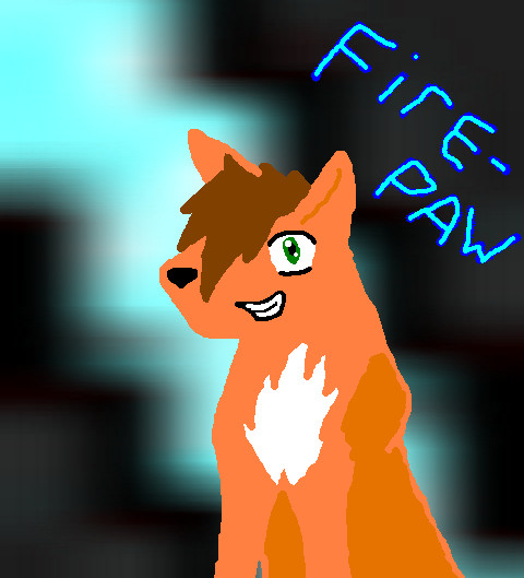 Firepaw by ponygirlish