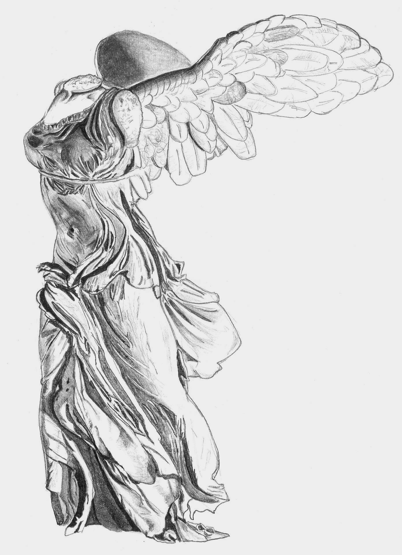 Nike of Samothrace by TarAldarion on DeviantArt