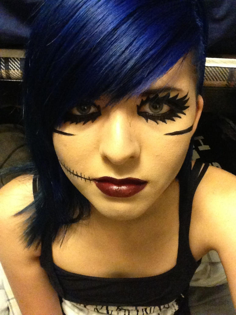 Andy biersack makeup by PunkxDemon96 on DeviantArt