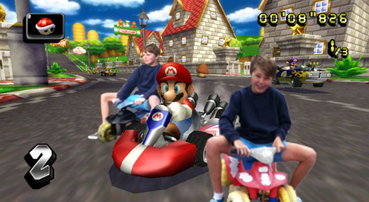 Me playing mario kart by Mista-Harry