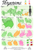 Vergarian Species Sheet by StrawberryOverlord