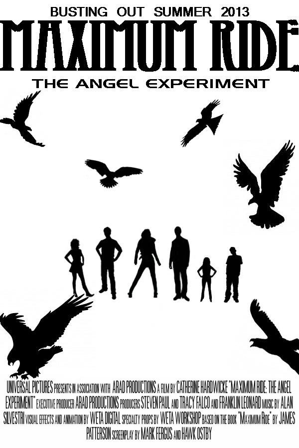 Maximum Ride Movie Poster TAE by AMEH-LIA on deviantART  Maximum Ride Mo...