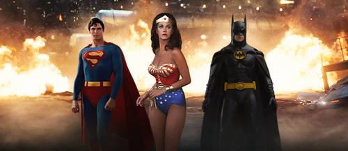 Classic Batman v Superman Trinity