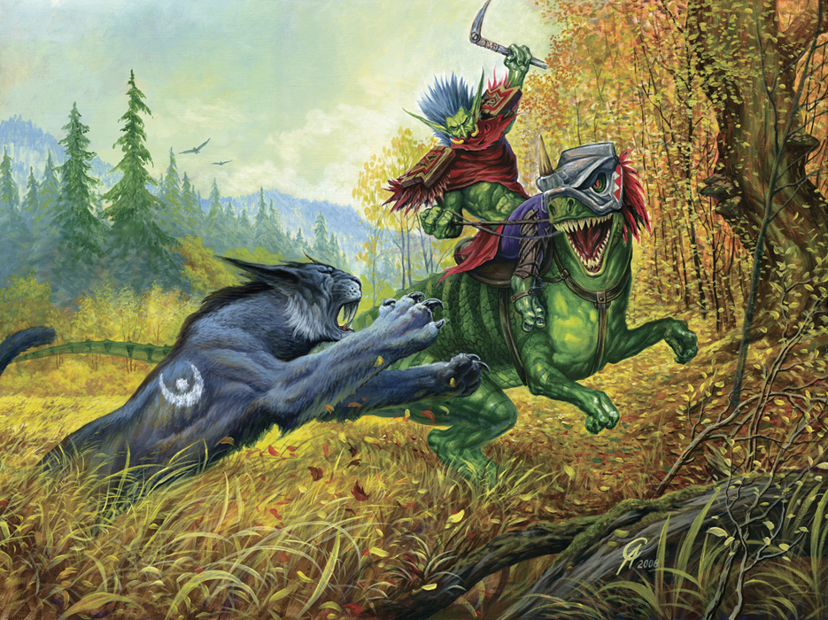 The Aggressive Druid World Of Warcraft By Sergey82M On