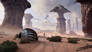 Alien planet by Sergey82M