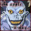 Death Note - Ryuk Apple by BishouHunter