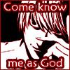 Death Note Avatar - Raito God by BishouHunter