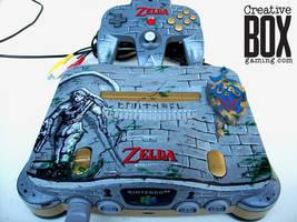 Legend of Zelda Custom Nintendo 64 by CreativeBoxGaming