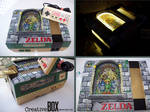 Stained Glass Zelda Custom NES by CreativeBoxGaming