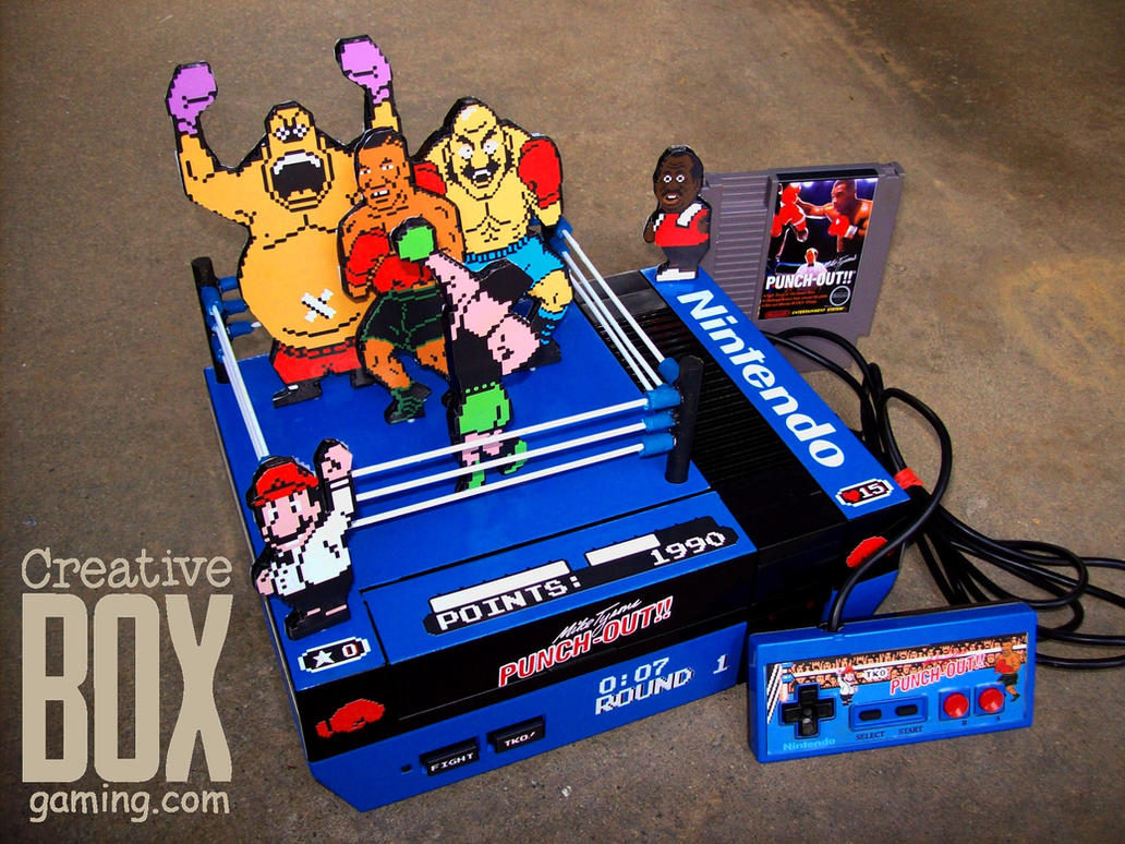 Custom Mike Tyson's Punch Out NES by CreativeBoxGaming