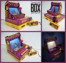 Geek and Sundry's Co-Optitude Custom NES Console by CreativeBoxGaming
