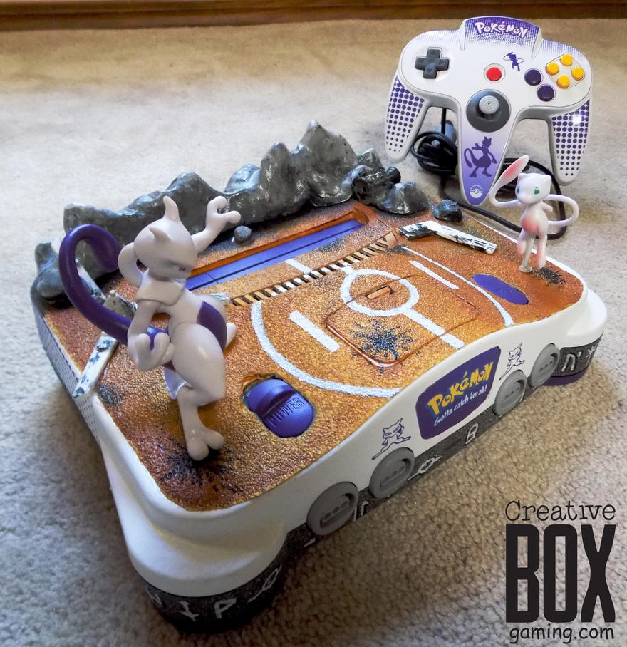 Custom Pokemon Nintendo 64 Mew Vs Mewtwo By Creativeboxgaming On Deviantart