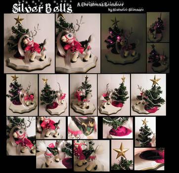 Silver Bells, A Christmas Reindeer by Alatariel-Silimaure