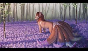 Purple field (SpeedPaint)