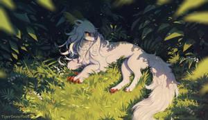 Quiet forest (SpeedPaint)