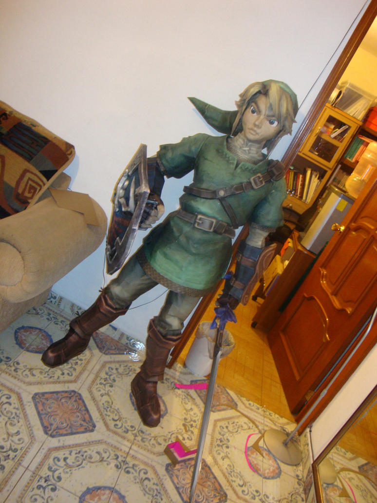 Link Giant papercraft by Jet306