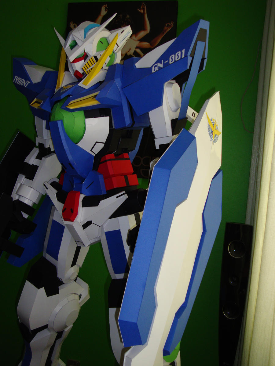 Gundam exia papercraft by Jet306