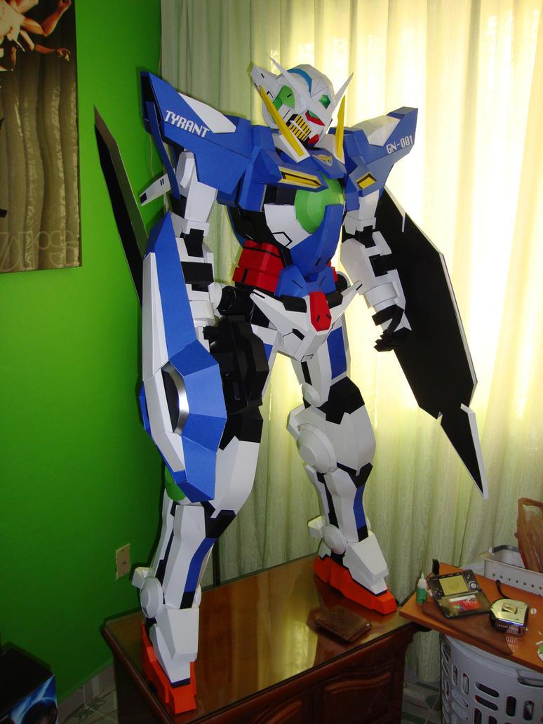 Gundam Exia 001 Papercraft by Jet306