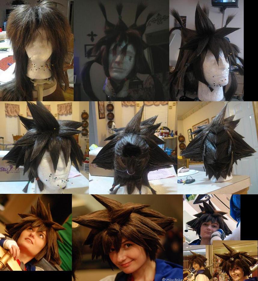 Sora Wig I by xHee-Heex