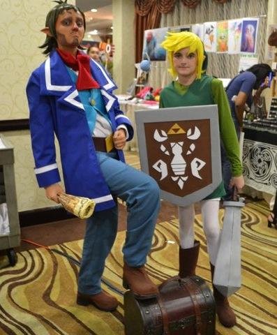 Link 'n Captain Mor-- Linebeck by xHee-Heex