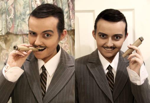 Gomez Addams - Makeup Test