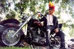 Fire Pompadour - Arda's Iron Wig Contest