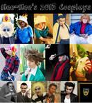 Happy New Year! 2013 Cosplays