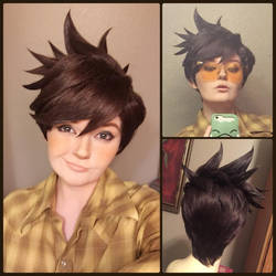 Tracer Wig by xHee-Heex