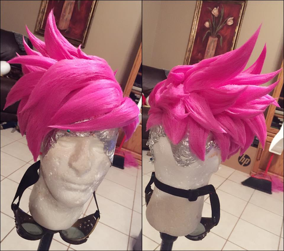 Punk Tracer Wig