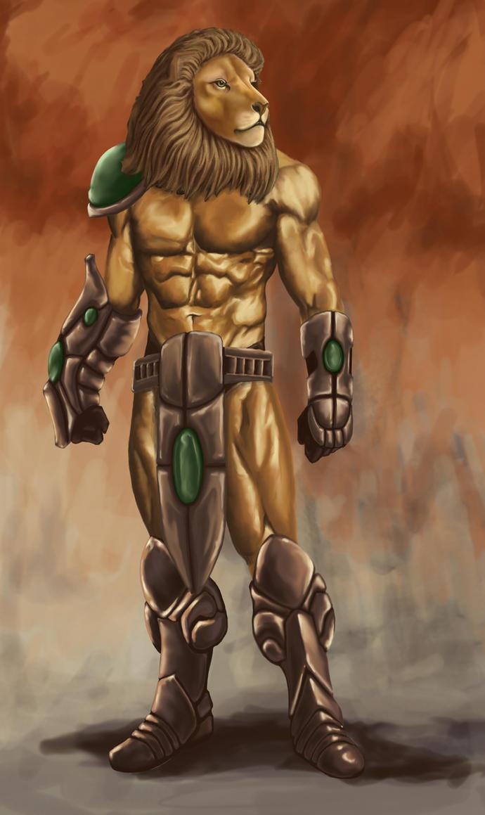 Lion Warrior by Ramsay75 on DeviantArt